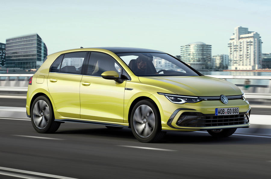2020 Volkswagen Golf Mk8 official press - R-line front