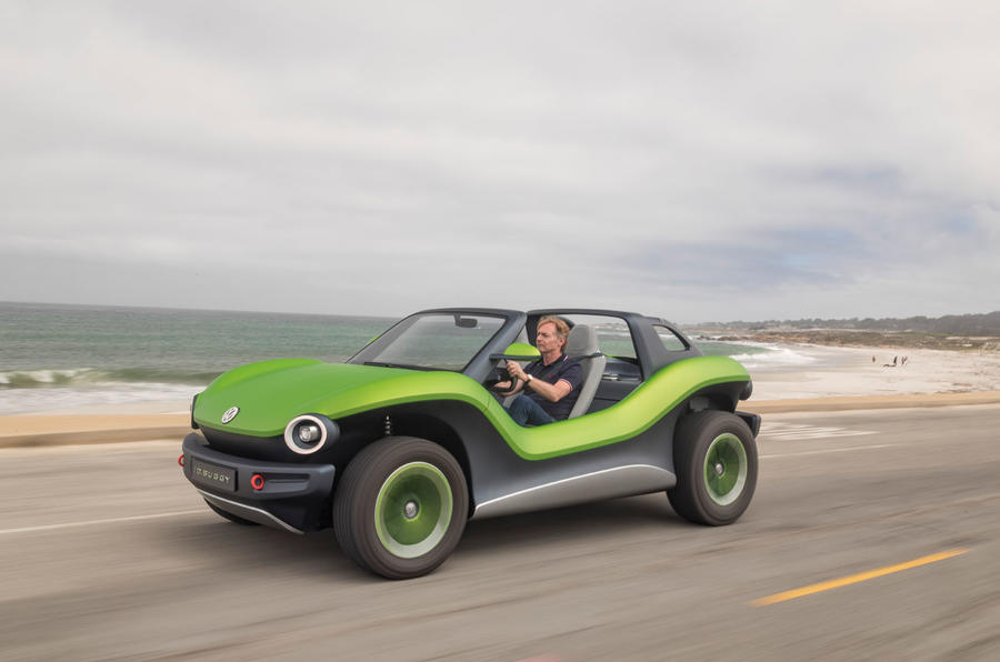 Volkswagen ID Buggy concept first drive - on the road