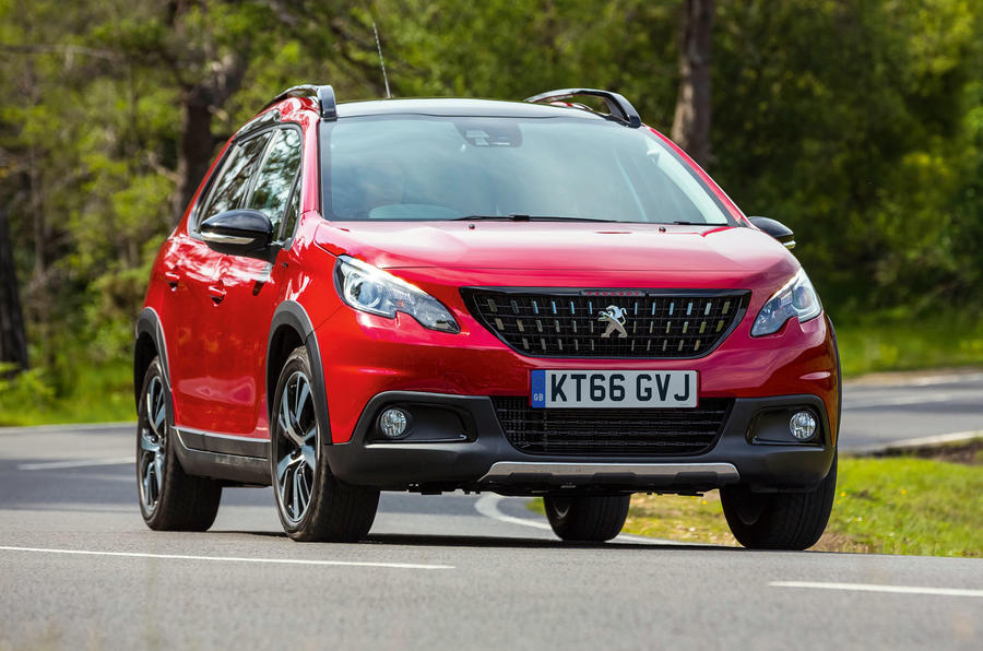 Used vs PCP: people movers - Peugeot 2008