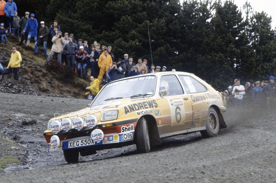Vauxhall Chevette rally car