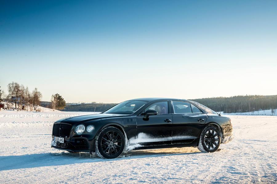 Bentley Flying Spur 2020 development ride - static front
