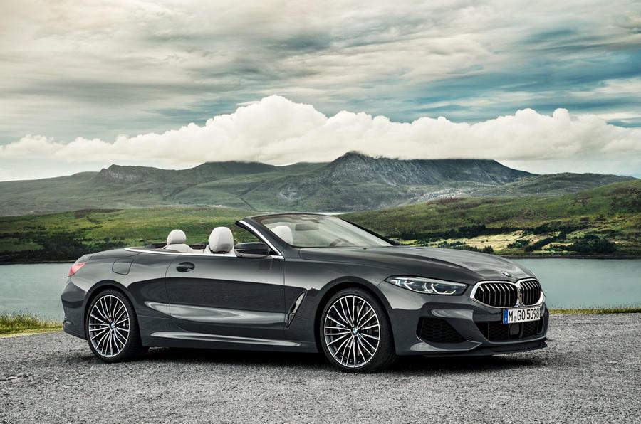 New BMW 8 Series convertible debuts at LA | Autocar