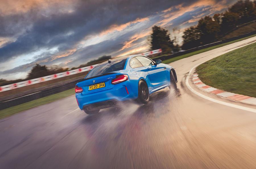 Britain's best drivers car 2020 - BMW drift rear