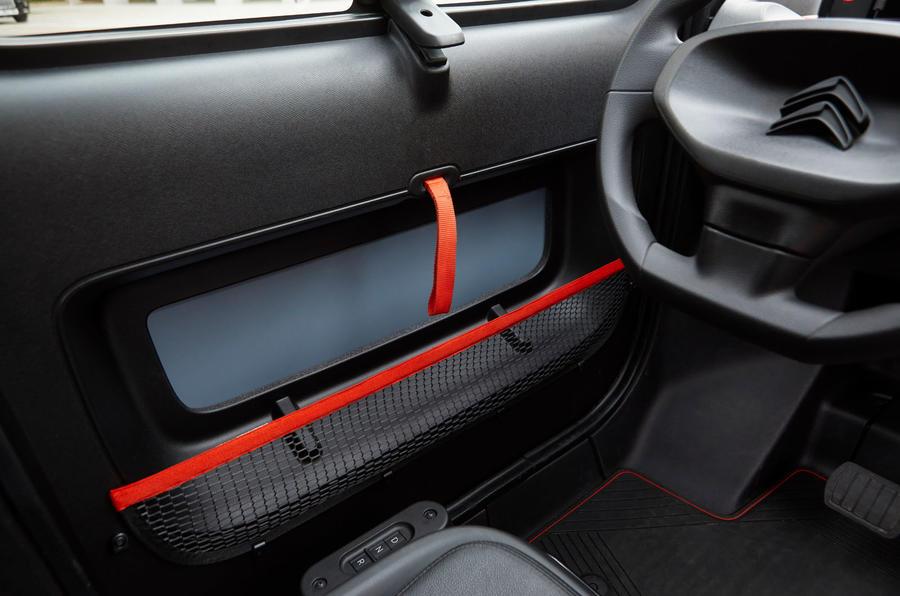Citroen Ami (LHD) 2020 UK first drive review - door cards