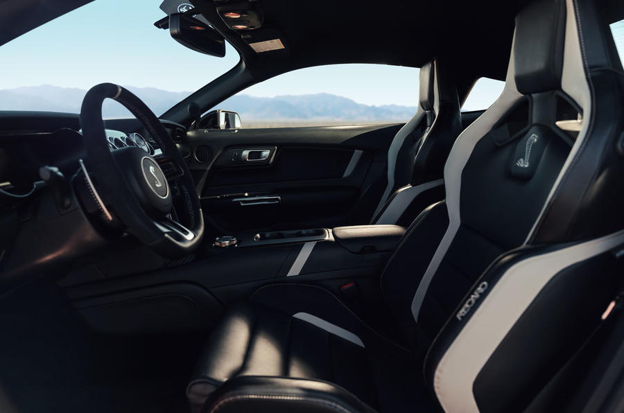 Ford Shelby Mustang GT500 official reveal - interior