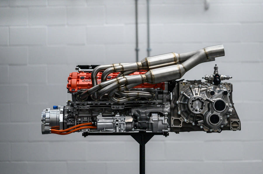 Gordon Murray T50 official reveal - engine