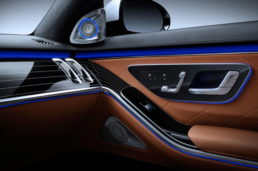 2021 Mercedes-Benz S-Class official reveal images - door cards
