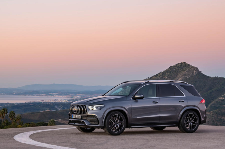Mercedes-AMG GLE 53 official press reveal - static rear