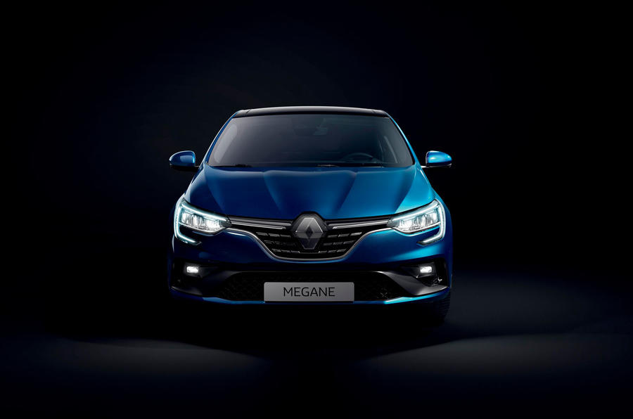 Renault megane 2020 refresh - rs line static front