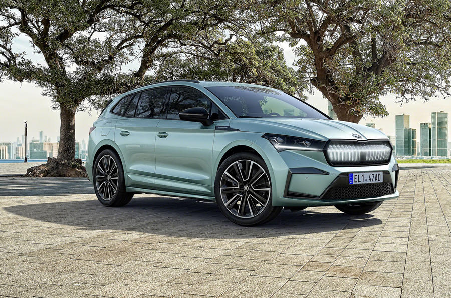 Skoda Enyaq official reveal images - static
