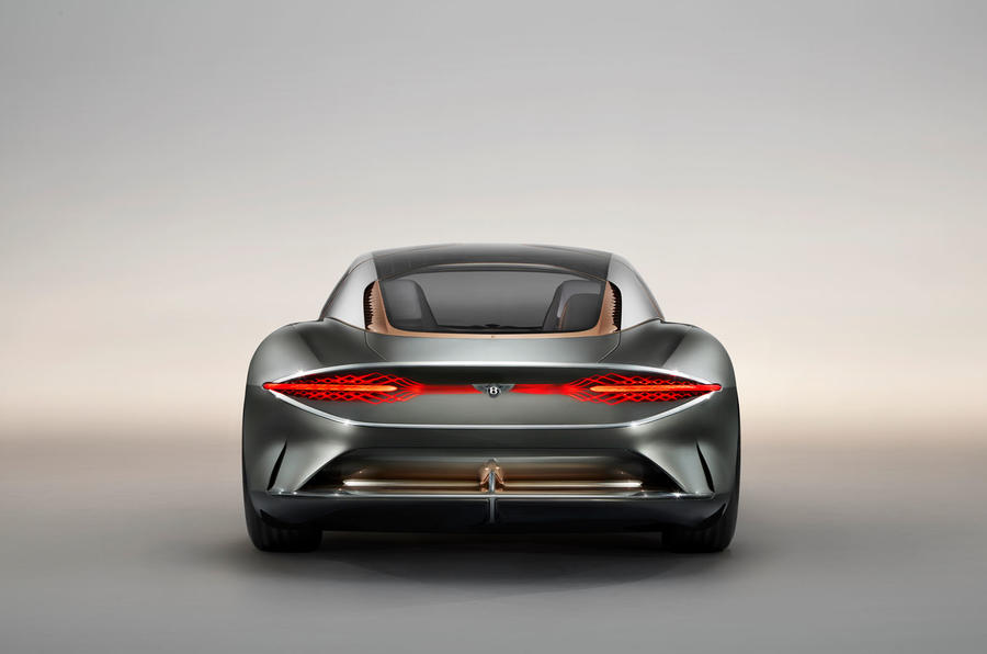 Bentley EXP 100 GT Concept official images - rear