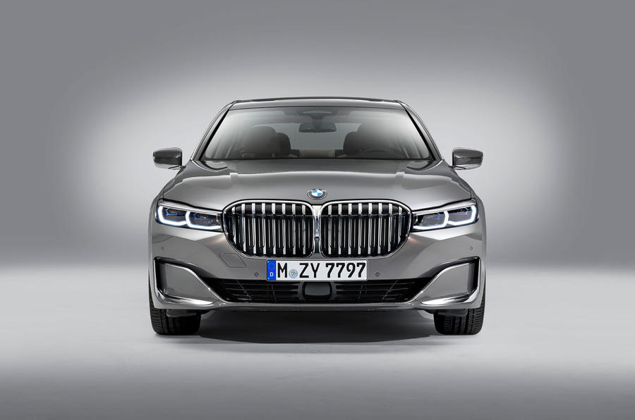 2019 BMW 7 Series official reveal - static front