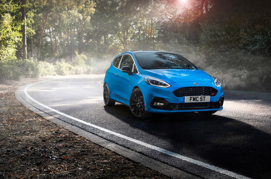Ford Fiesta ST Edition 2020 official announcement - static front
