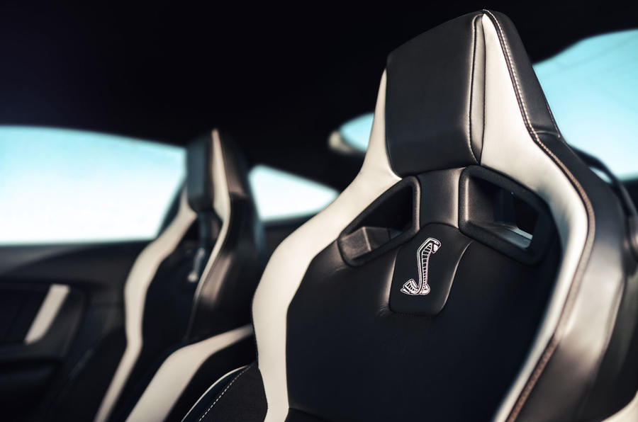 Ford Shelby Mustang GT500 official reveal - Recaro seats