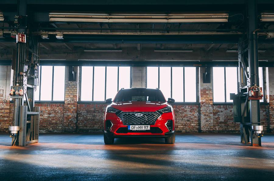 Hyundai Tucson N Line 2019 reveal - static nose
