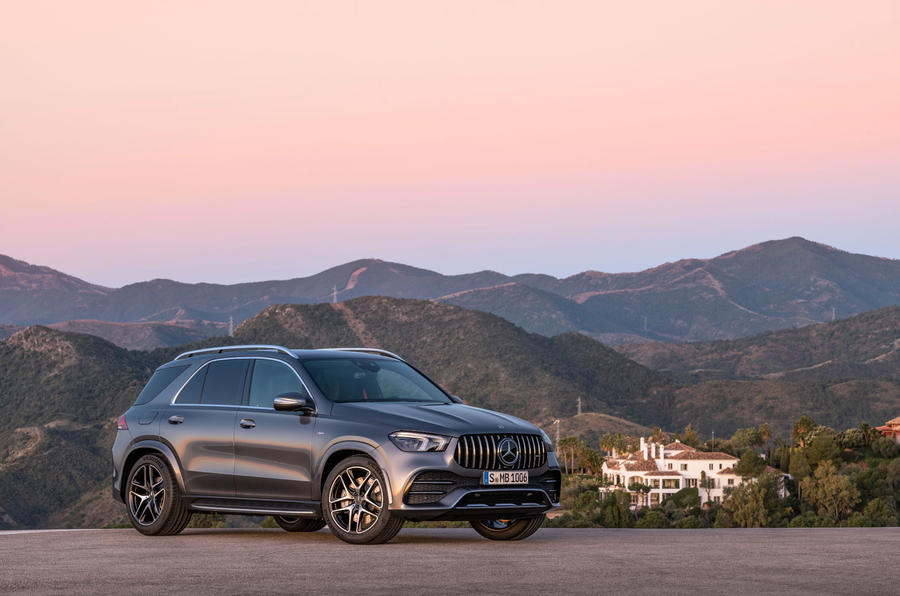 Mercedes-AMG GLE 53 official press reveal - static front
