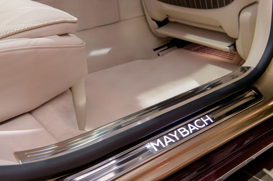 2021 Mercedes-Maybach S-Class official images - scuff plates