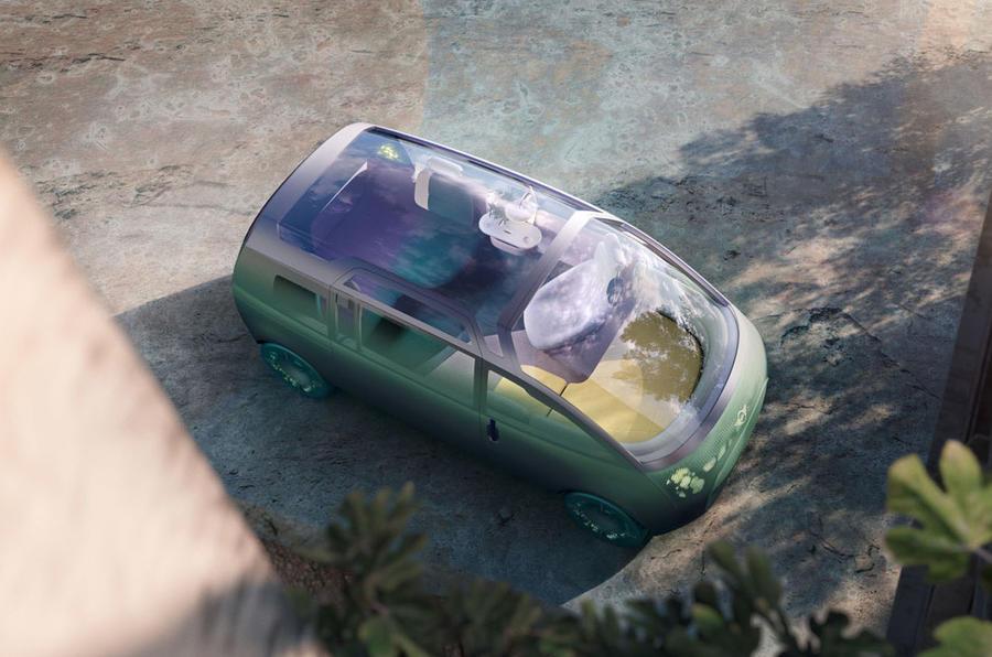 2020 Mini Urbanaut concept - roof