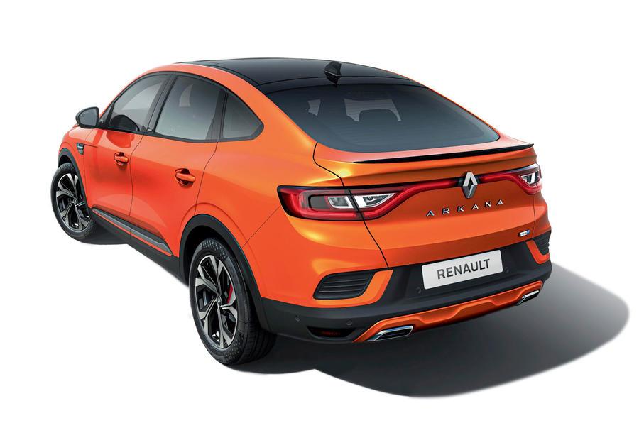 2021 Renault Arkana official European images - static rear