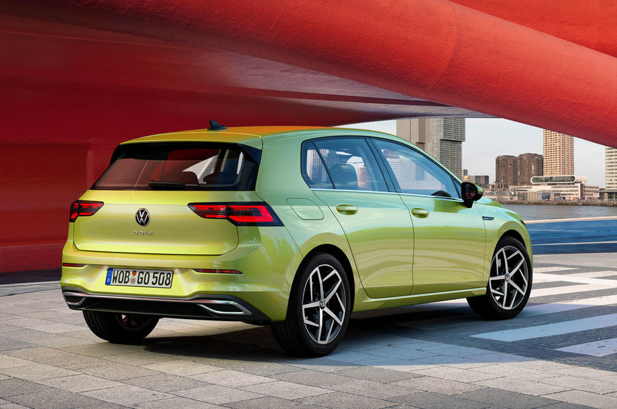 2020 Volkswagen Golf Mk8 official press - static rear