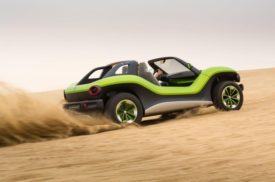 Volkswagen ID Buggy concept first drive - dunes