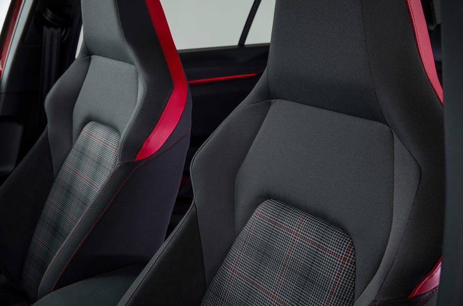Volkswagen Golf GTI 2020 - seats