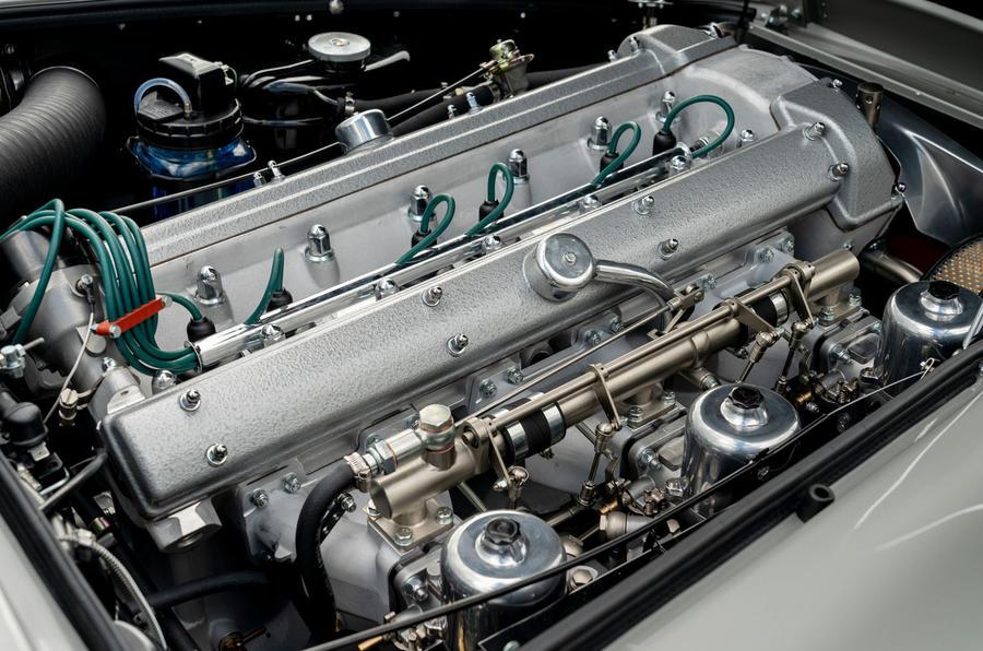 Aston Martin DB5 Goldfinger Continuation engine
