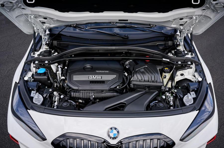 BMW 1 Series 128ti official reveal - engine