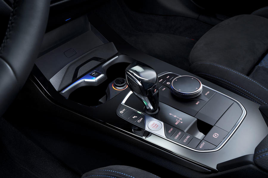 BMW 1 Series 2019 official reveal - centre console