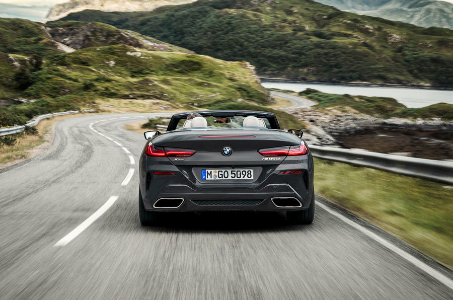 BMW 8 Series cabriolet 2018 official reveal - rear
