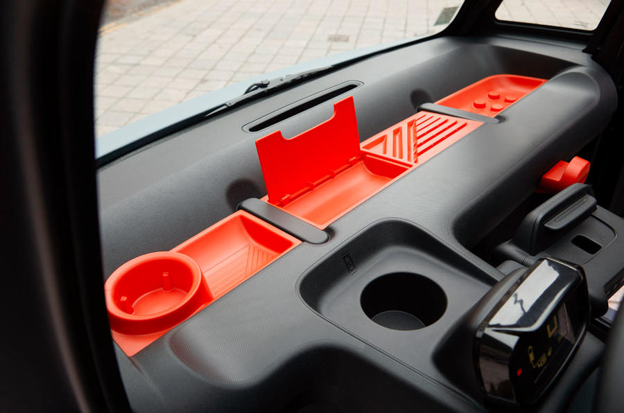 Citroen Ami (LHD) 2020 UK first drive review - dashboard storage