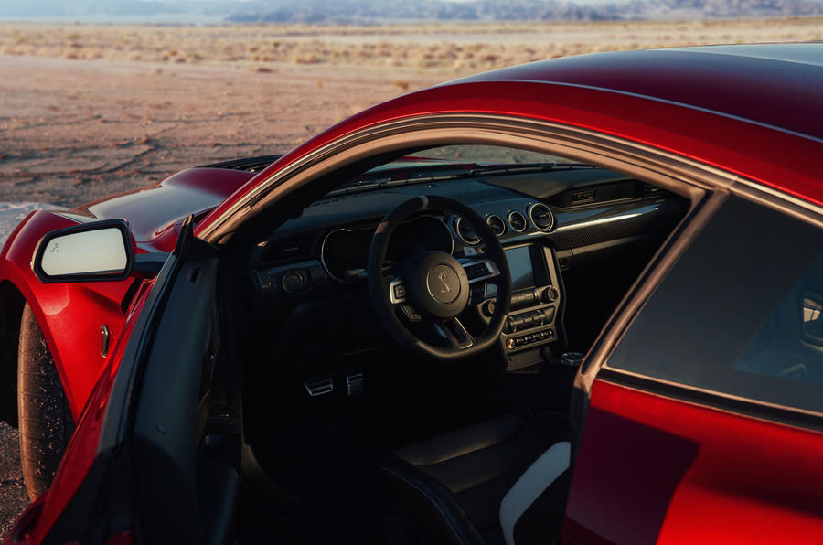 Ford Shelby Mustang GT500 official reveal - cabin