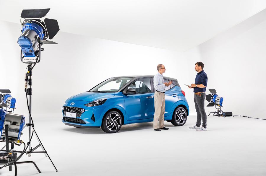 Hyundai i10 2019 reveal - studio interview