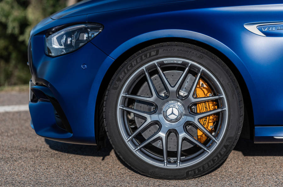 2020 Mercedes-AMG E63 facelift - estate alloy wheels