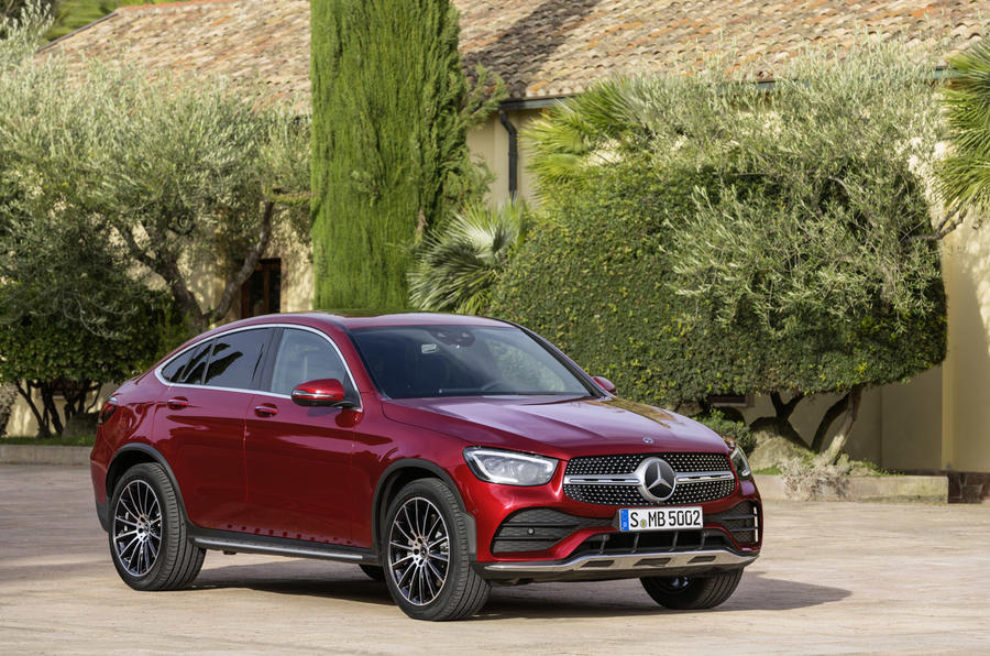 Mercedes GLC Coupe 2019 press - static front