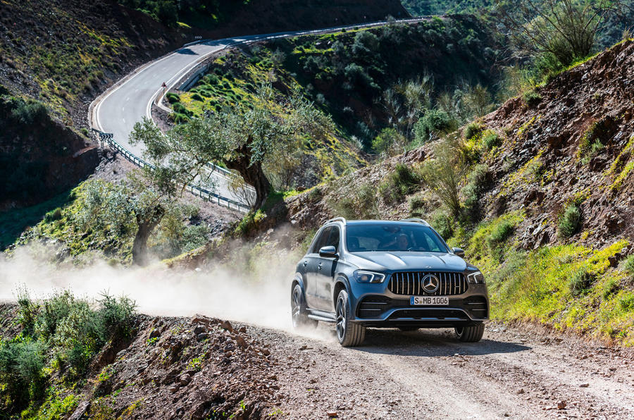 Mercedes-AMG GLE 53 official press reveal - off-road