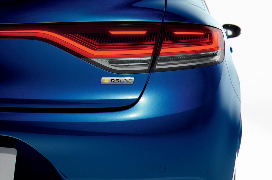 Renault megane 2020 refresh - RS line rear lights