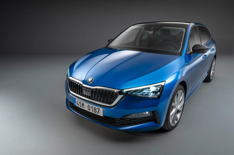 2019 skoda scala all new family hatchback revealed autocar. Black Bedroom Furniture Sets. Home Design Ideas