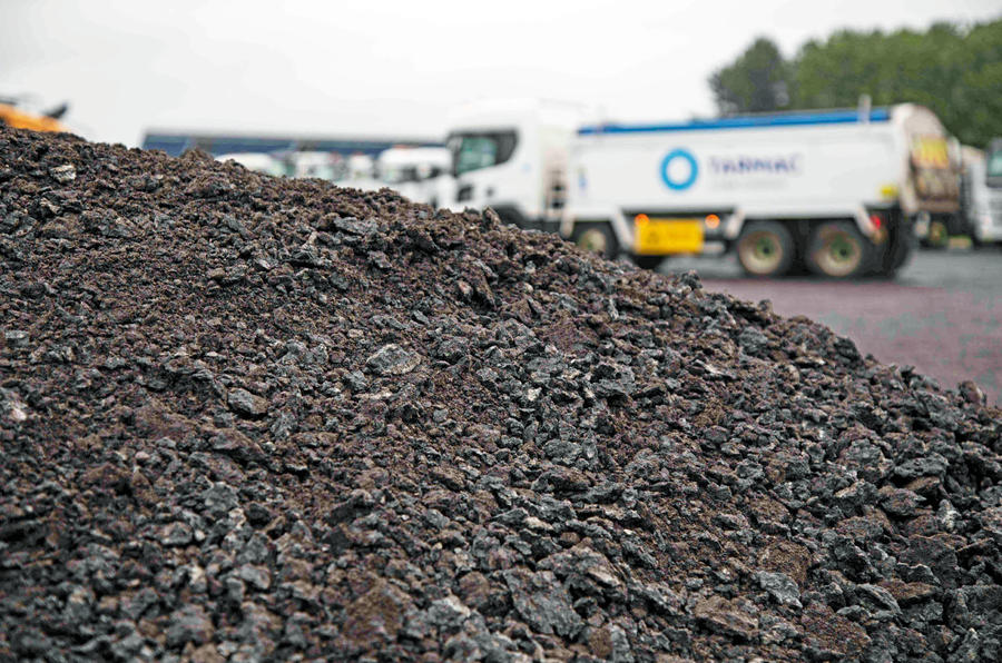 New Tarmac at Silverstone for 2019 - aggregates