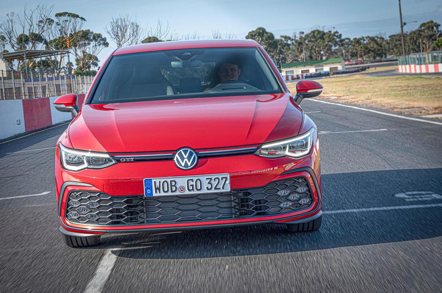 2020 Volkswagen Golf GTI first ride - track nose