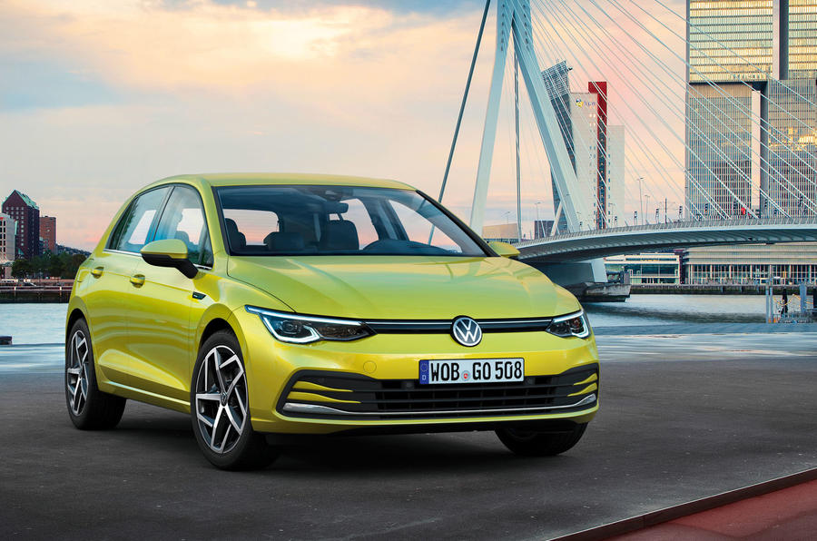 2020 Volkswagen Golf Mk8 official press - static front