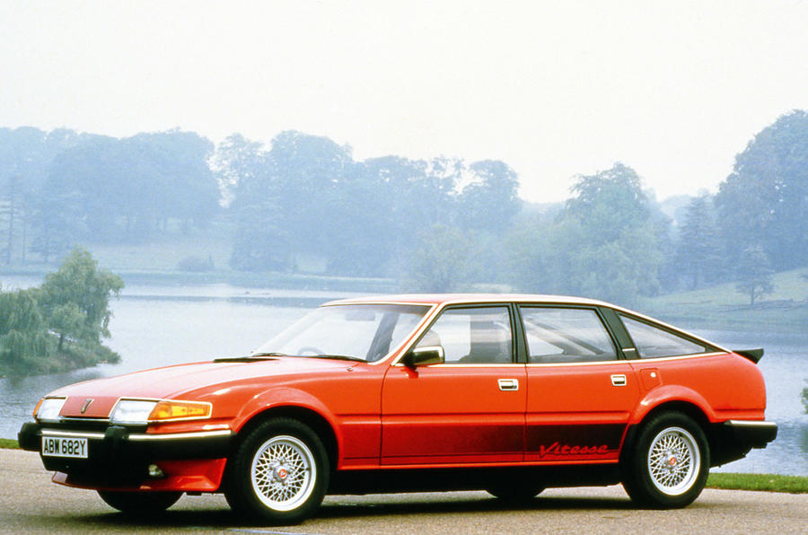 Rover Vitesse 1982 - stationary side