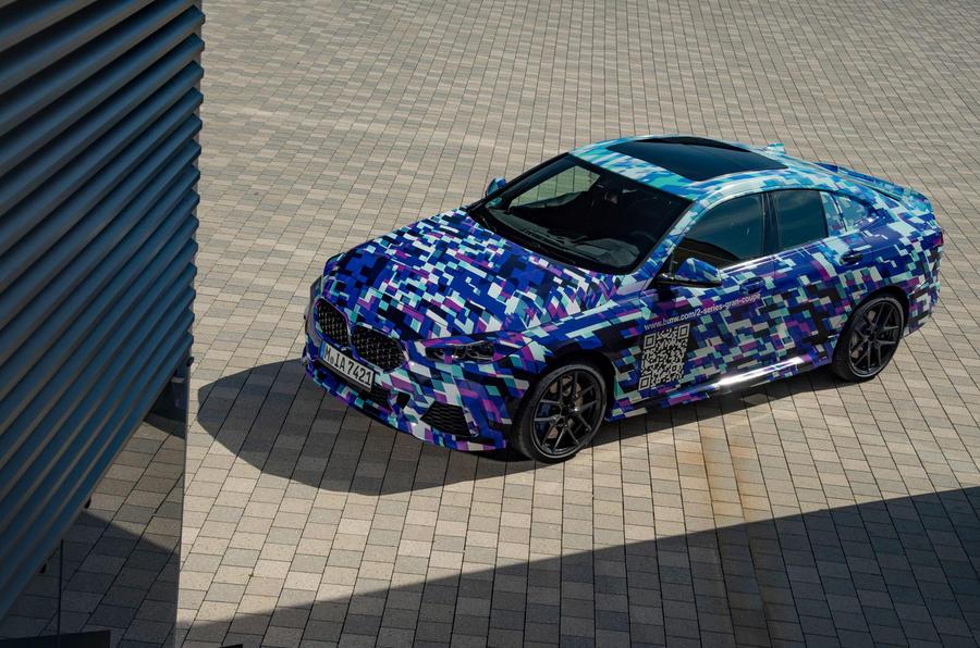 BMW 2 Series Gran Coupé prototype drive - static