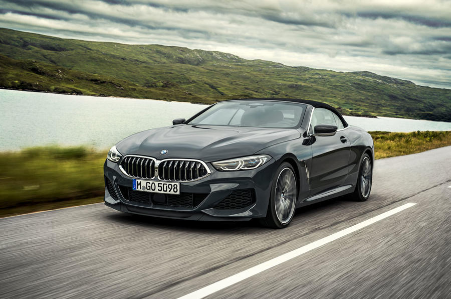 BMW 8 Series cabriolet 2018 official reveal - roof up
