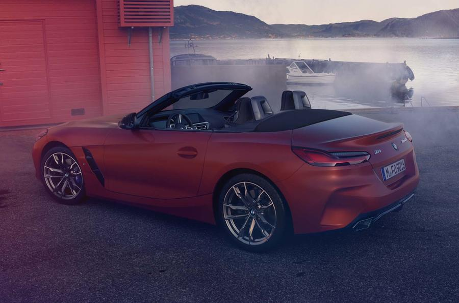 2019 BMW Z4 official reveal Pebble Beach - rear