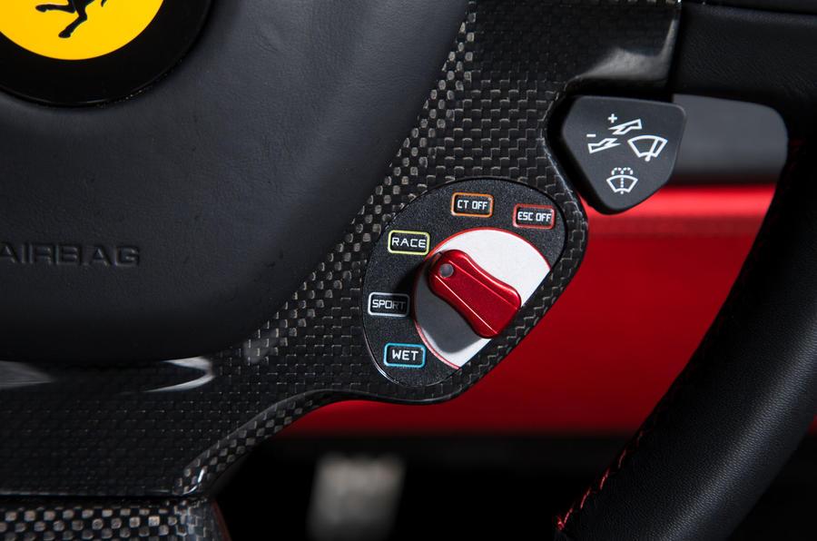 Ferrari 488 GTB rewind - drive modes