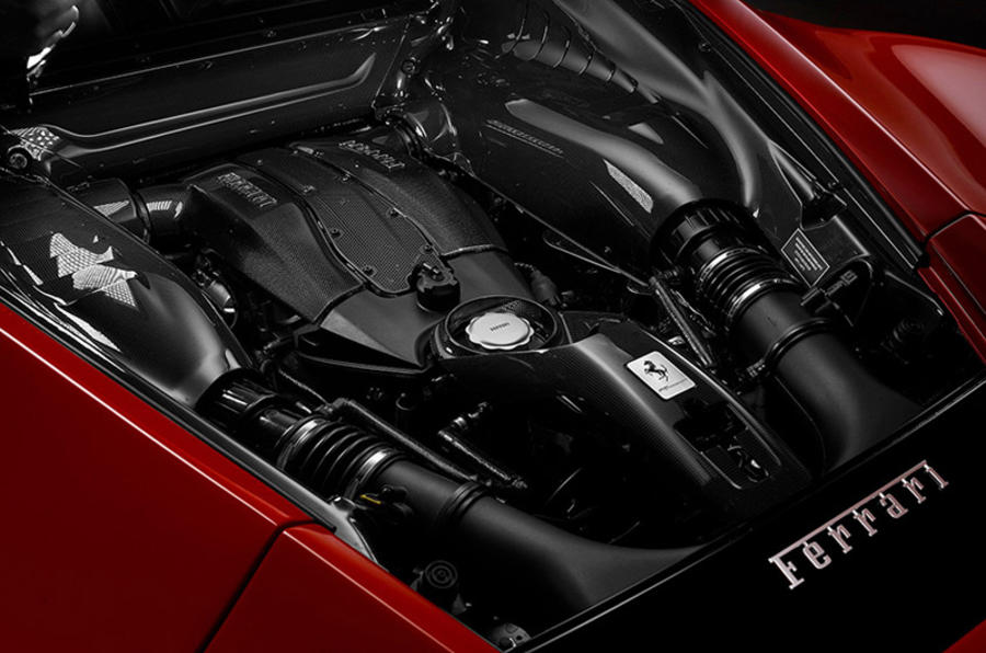 Ferrari F8 Tributo 2019 first ride review - engine