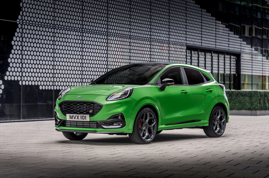Ford Puma ST official images - static front
