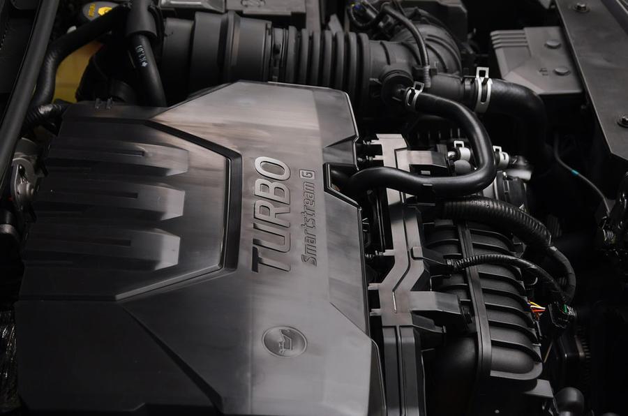 Hyundai i20 2020 studio images - engine