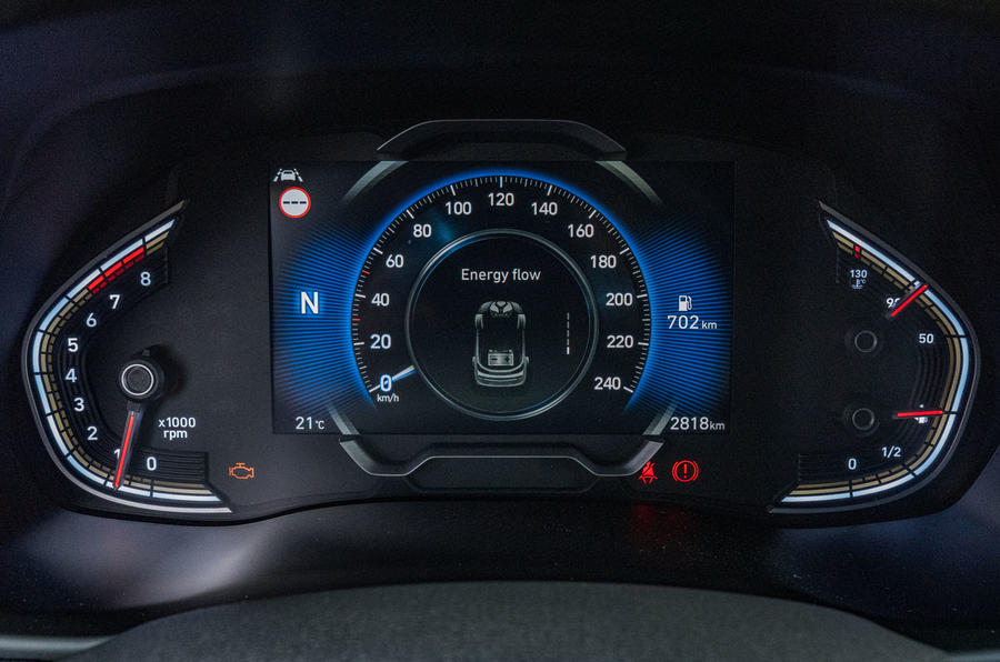 2020 Hyundai i30 N-Line prototype drive review - instruments